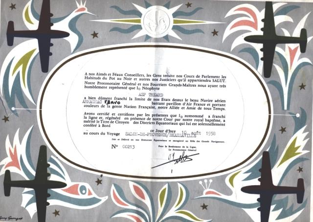 [ Les traditions dans la Marine ] LE PASSAGE DE LA LIGNE - ÉQUATEUR (Sujet unique) - Page 6 3croisiere